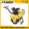 Einzelne Dieseltrommel-Vibrationsfußgängerrolle für Verkauf (FYL-600C)