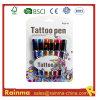 Безопасная ручка чернил геля татуировки для краски стороны тела