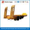 60 Capaciteit 3 van de Lading van de ton Vrachtwagen van het Dek van Assen de Lage met de Prijs van de Fabriek op Hete Verkoop