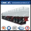 Cimc trein-Type Huajun de Semi Aanhangwagen van de Staak van de Lading