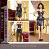 Madame sexy en gros Leather Overbust Corset