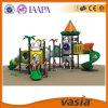 Apparatuur van de Speelplaats van jonge geitjes de Plastic Commerciële Openlucht