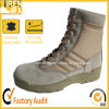 Stitchedの砂漠Army Bootsがあるつま先およびHeel