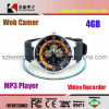 gravadora de voz de 4GB Waterproof Sport Watch Style Camera Digital