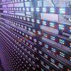 Im FreienWaterprrof Trennvorhang farbenreiche LED-Bildschirmanzeige
