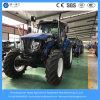 Alimentador de granja agrícola chino del Rueda-Estilo del equipo 155HP 4WD