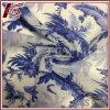 Af:drukken 30% Zijde 70% van het Patroon van het porselein Katoenen Transparante Stof
