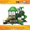Grüne Dschungel-Farben-im Freienspielplatz-Gerät