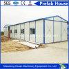 Casa modular pré-fabricada segura do conjunto de Quckly do frame de aço e do painel de sanduíche para a reconstrução do disastre