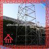 Sistema modular del andamio de Ringlock de la plataforma de la construcción