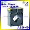 Миниые трансформаторы CT Abo-40 электрические в настоящее время с датчиком типа 0.5 изготовления CT отверстия 33mm внутреннее в настоящее время