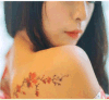 Стикеры Tattoo модного тела водоустойчивые временно