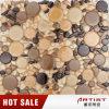 Более низкое цена для желтой выкристаллизовыванной мозаики плитки стены предпосылки плиток мозаики
