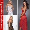 Женское бельё прозрачного длиннего платья шнурка цветов женщин 3 сексуальное