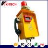 Sosの警報灯が付いている頑丈な産業電話Knzd-46火災報知器の電話