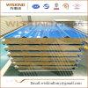 Panneau sandwich de laines de roche de plaque en acier pour l'usage de toit