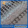 Transportador de correa espiral plástico inclinado flexible de la torre de enfriamiento/de la categoría alimenticia para el alimento