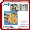鉄骨構造の屋根ふきのための岩綿の絶縁体