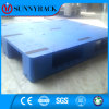 Palette 1200 x 1000 de matière plastique de HDPE euro pour la crémaillère de mémoire en métal d'entrepôt
