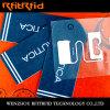 Étiquette de vêtement de tag RFID de vêtement d'IDENTIFICATION RF
