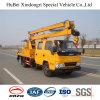 16m Jmc, das Armhigh Höhen-Arbeits-LKW mit guter Qualität Euro5 faltet