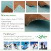Tela consolidada laminada PU impermeable respirable de Softshell del paño grueso y suave del poliester de la TPE TPU