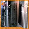 Cabine do revestimento do pó para o engranzamento de fio de aço galvanizado do metal
