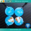 Cartão Epoxy esperto quente do Tag T5577 Lf RFID da venda NFC