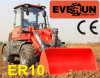 Jcb Style Cabin와 가진 Everun 1.0ton Mini Farm Front End Loader