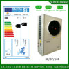 -25c Rússia Cold Winter Residential Home Floor Heating + 55c Água quente Dhw 12kw / 19kw / 35kw / 70kw Air to Water Pump Pump Air Source