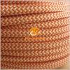 кабель с оплеткой ткани провода шнура светильника света сбор винограда 2X0.75 3X0.75mm2