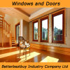 カスタマイズされたカラーアルミニウムChadding木Windows