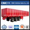 Cimc 3つの車軸ヴァンの貨物輸送のトレーラー