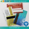 Карточка магнитной нашивки Hico печатание изготовления CYMK пластичная