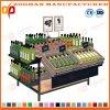 Prateleiras de madeira Zhv5 da cremalheira do carrinho de indicador do vegetal e da fruta do supermercado