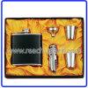 Conjuntos de frasco de cadera de acero inoxidable (R-HF035)