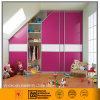 Тип завораживающей большой раздвижной двери шкафа (розовый/белый)
