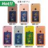 Nueva caja del teléfono móvil de Arrivel para la cubierta protectora suave ultrafina transparente del caso del iPhone TPU con la ranura para tarjeta para el iPhone 6 6 más