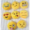 Felpa suave Keychains de la nueva del estilo cara de la sonrisa