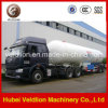 2 Radachse 40.5cbm/40.5m3/40500 Liters/10530gal/17tons Horizontal LPG Tank Semi Trailer