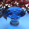 신선한 50mm Blue Diamond Crystal Furniture Knobs