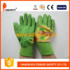 Зеленый латекс ягнится перчатки Dcl524 безопасности перчатки сада