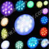 Plastic LED Housing Piscine Lumière PAR56 LED SMD Piscine Lampe blanc, RGB