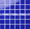 плитка мозаики бассеина сини 48X48mm застекленная Carckle керамическая (BCK657)