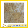 Polished naturale Luxury Kashmir Gold Granite Tile per Wall/Flooring (YQC)