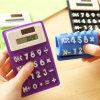 Чалькулятор силикона мягкой тонкой новизны карманн солнечной силы кредитной карточки миниой малый