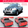 Крышка Tonneau автомобильного вспомогательного оборудования мягкая для 04-11Nissan кровати 7 титана 5 ' -