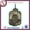 Персонализированное медаль сувенира металла Siverl золота покрынное медью
