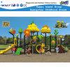 Equipamento ao ar livre do jogo da corrediça das crianças frutuosas do campo de jogos do macaco (HD-FY01101)