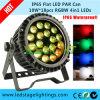 호리호리한 LED 동위 빛, 옥외에게 를 사용하는을%s IP65 DMX512 18PCS*10W RGBW 4in1 강력한 LEDs